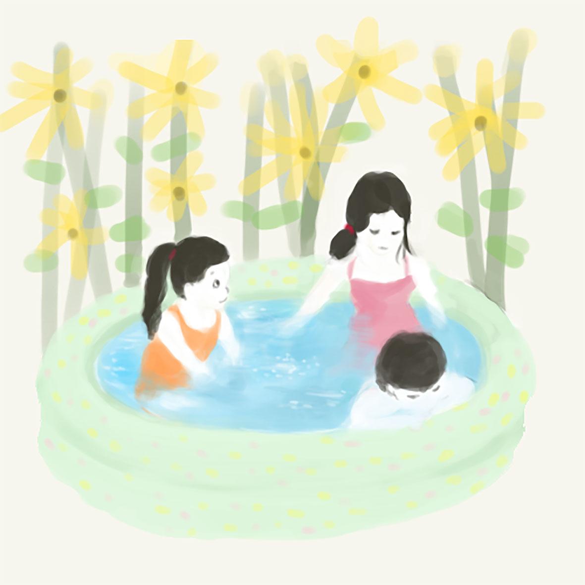 7/21(土)ちびっこミニプール開放